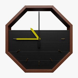 clock modern 3D model