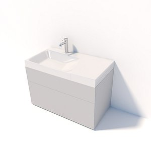 3d sink for bathroom model