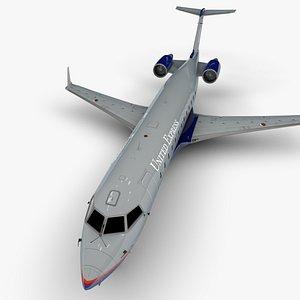airlines bombardier crj 200 3D model