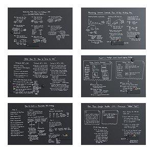blackboard polyvision sans 3D model