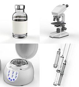vaccination 3D model