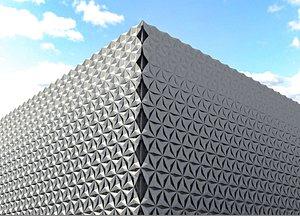 3D model Decorative panel exterior
