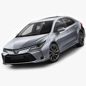 Toyota Corolla Sedan 2020 3D model
