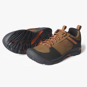 keen montford shoes 3D model