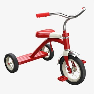 Children tricycle 3D
