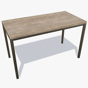 wooden bench - old model