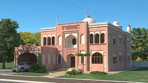 3D Indian House 2