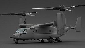 osprey boeing 3D model