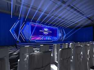 3D Stage truss meeting hall event T station show concert(2)