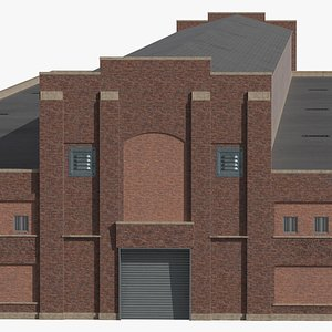 3D ready old industrial building