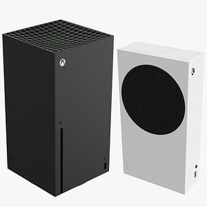 New Generation Xbox Series X And S 3D model