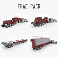 Frac Pack: Pumper, Blender, Sandhog and Missile