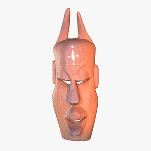 african mask hy 3D model