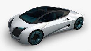 ev sportcar 3D model