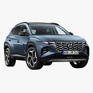 3D 2021 Hyundai Tucson