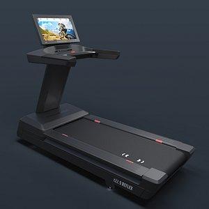 Freemotion t229 REFLEX Treadmill 3D model