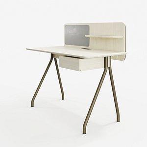 3D writing desk oeo studio