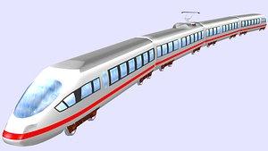 ice 3 electric passenger train model
