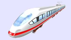 ice 3 electric passenger train model