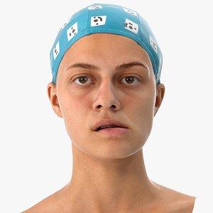 3D penelope human head jaw model