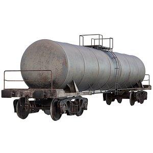 train oil tank 3D model