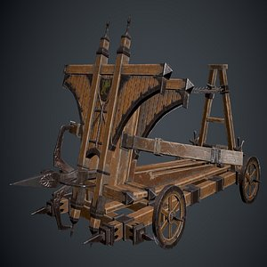 3D weapon projectile ballista