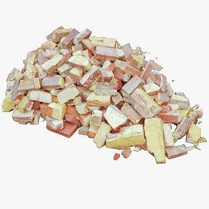 red brick 3D model