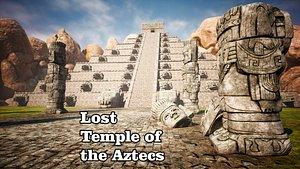 3D model Lost Temple of the Aztecs