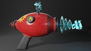 Realistic Alien Gun 3D model