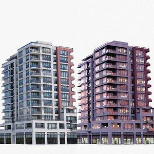 Vancouver Apartments V4 3D model