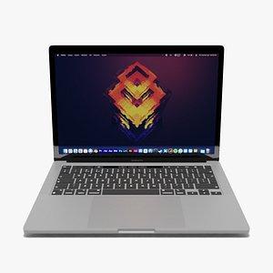3D 2021 M1 MacBook Pro 13 inch model