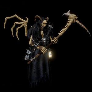 3D reaper boss