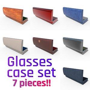 Glasses Case Set 7 Pieces!