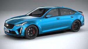 Cadillac CT5-V Blackwing 2022 3D model