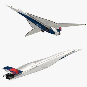 3D model ssa delta air