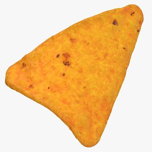 dorito taco cracker 01 3D model