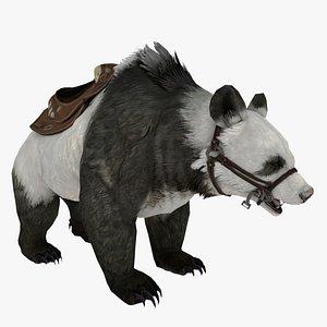 3D PANDA BEAR Rigged 3D model 3D model
