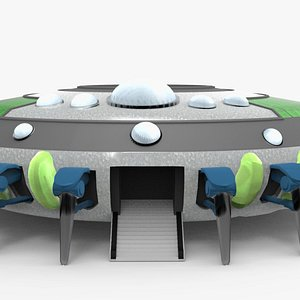 Mothership UFO 3D