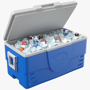 Full Ice Box 3D model