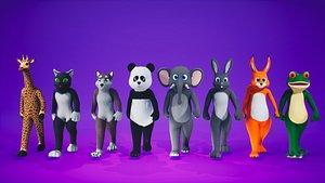 3D model FurSuit Animals Pack