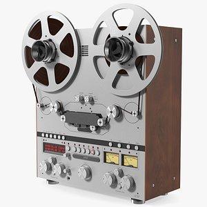 Reel to Reel Tape Recorder 3D