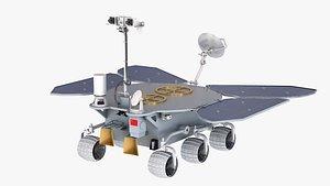 3D model tianwen mars rover