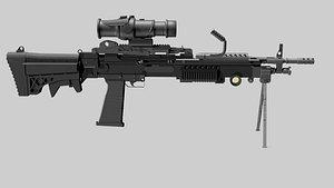 3D m249