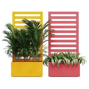Dwr trellis planter 3D model