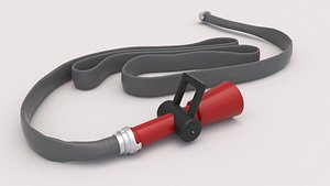 3D Fire Hose Nozzle 01 model