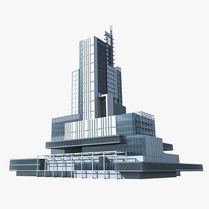 Modern Building 131 3D model