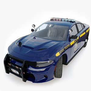 Dodge Charger Hellcat NY State Police model