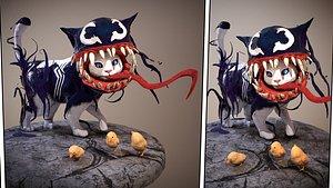 3D Cat Venom print