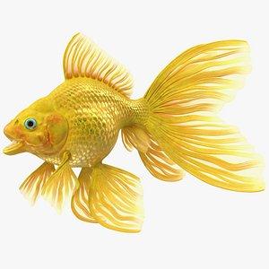 3D Goldfish Rigged