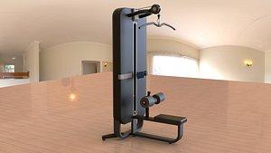 gym equipment 3D